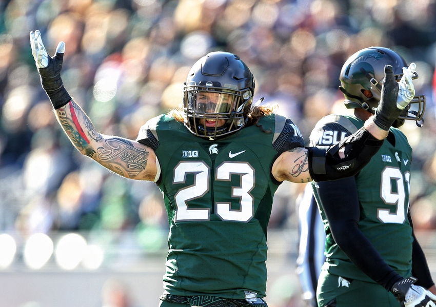 Michigan state football players gay